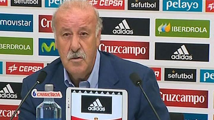 """Del Bosque: """"La lista tendrá una base del pasado y algún jugador nuevo"""""""