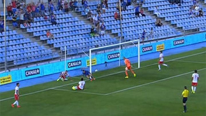 1-0. Victoria agónica del Getafe ante el Almería