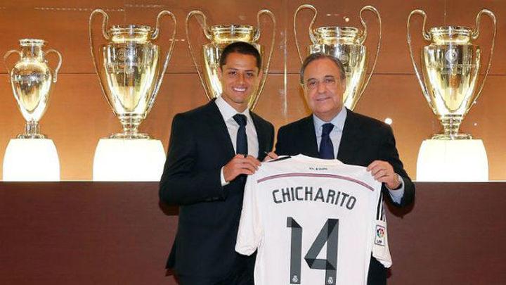 """'Chicharito' Hernández: """"Estar en el Real Madrid es un sueño"""""""