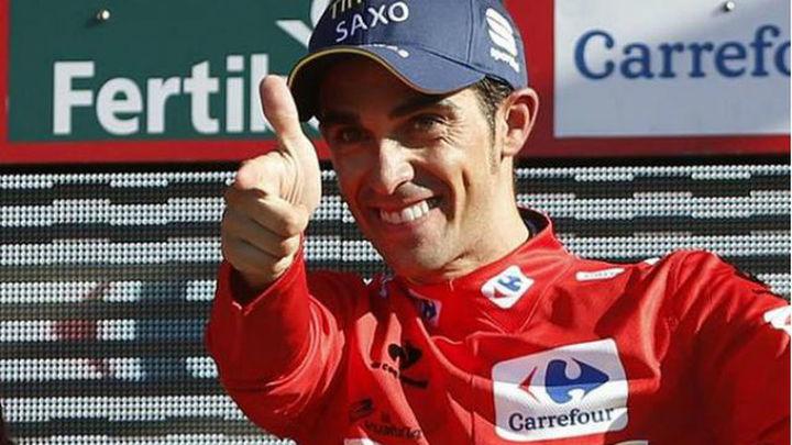 Vuelta: Contador, líder tras la contrarreloj que ganó Tony Martin
