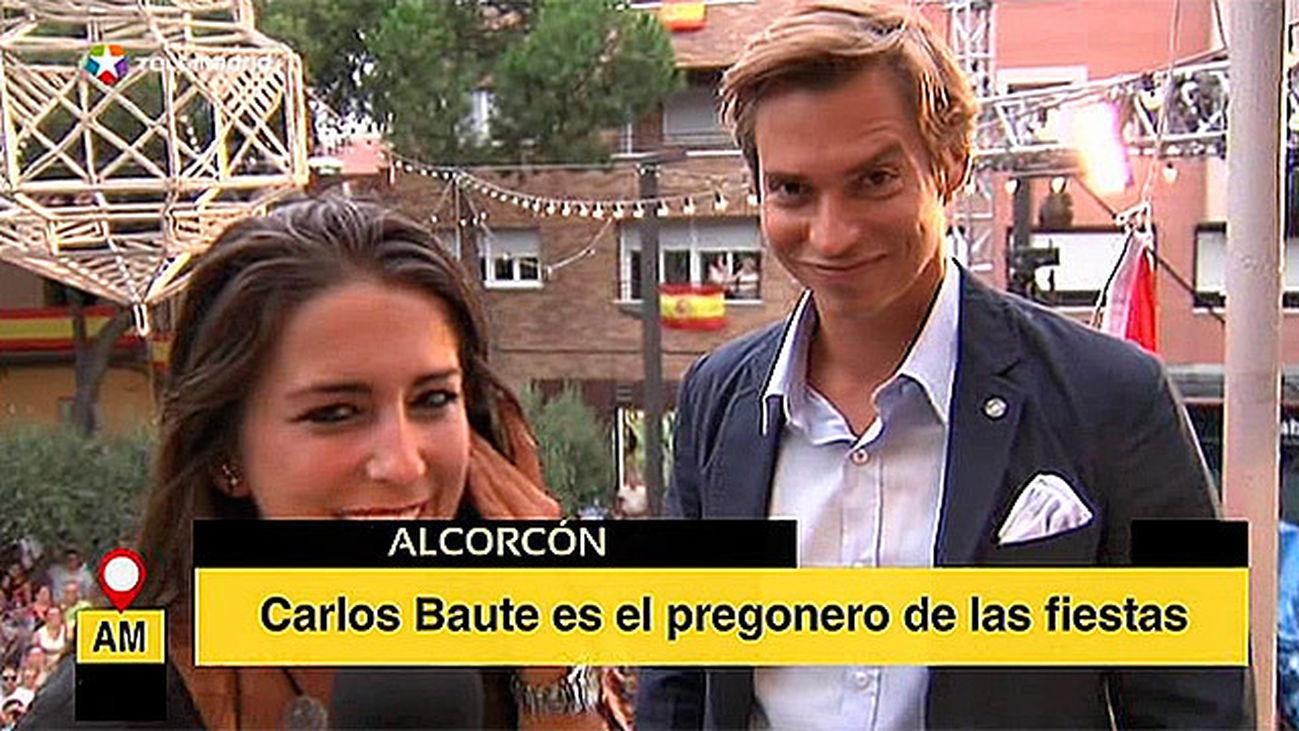 Carlos Baute, pregonero en Alcorcón