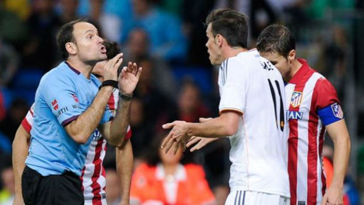 Mateu Lahoz dirigirá el Real Madrid-At. Madrid