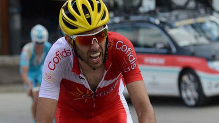 Vuelta: Dani Navarro gana en Cabárceno, Contador sigue primero