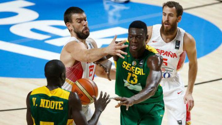 89-56. España arrolla a Senegal y Francia será el rival en cuartos