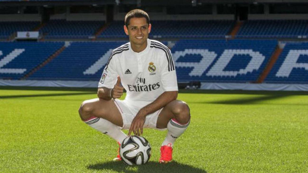 Chicharito Hernández, jugador del Real Madrid
