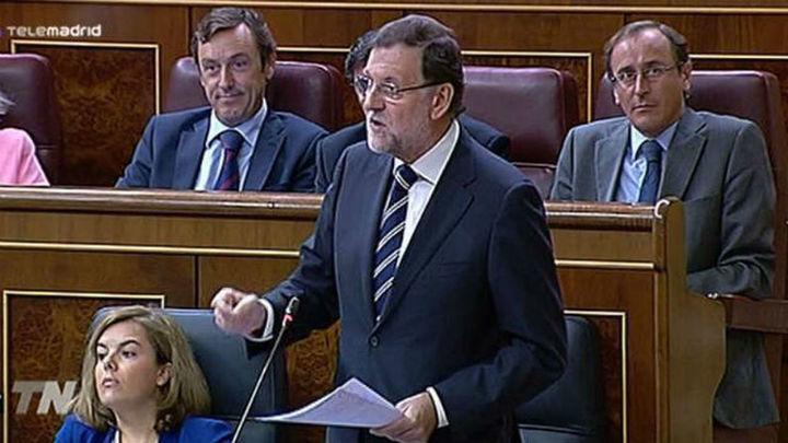 Rajoy hace corresponsable a Sánchez de la herencia que dejó Zapatero