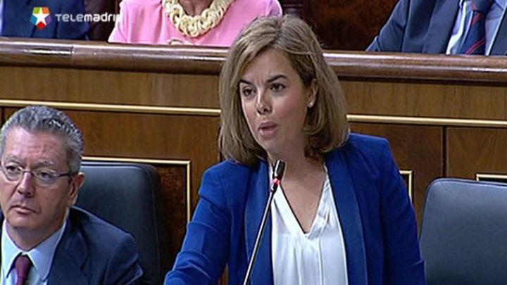 """Santamaría reprocha al PSOE que no respete los acuerdos: """"han empezado mal"""""""