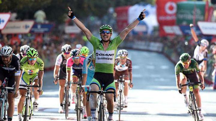 Vuelta: Cuarta victoria de Degenkolb y Contador sigue líder