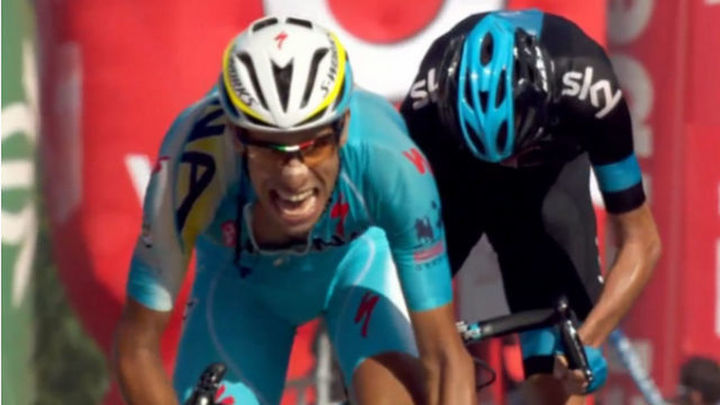 Vuelta: Gana Aru y Froome resta 20 segundos a Contador