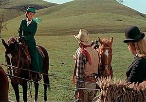 Cine western: Una dama entre vaqueros