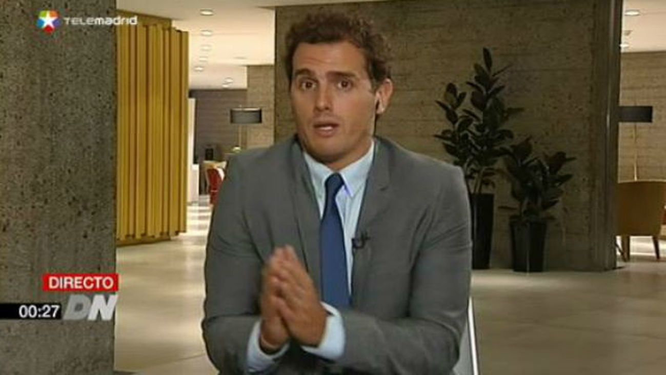 Entrevista a Albert Rivera, presidente de Ciudadanos