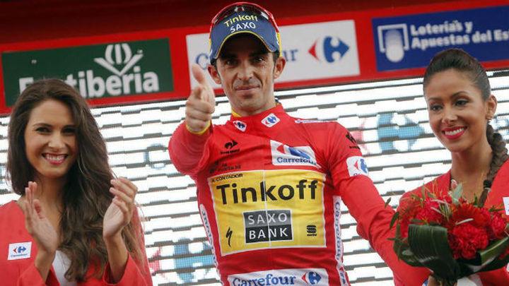 Contador sentencia la Vuelta tras resistir a Froome