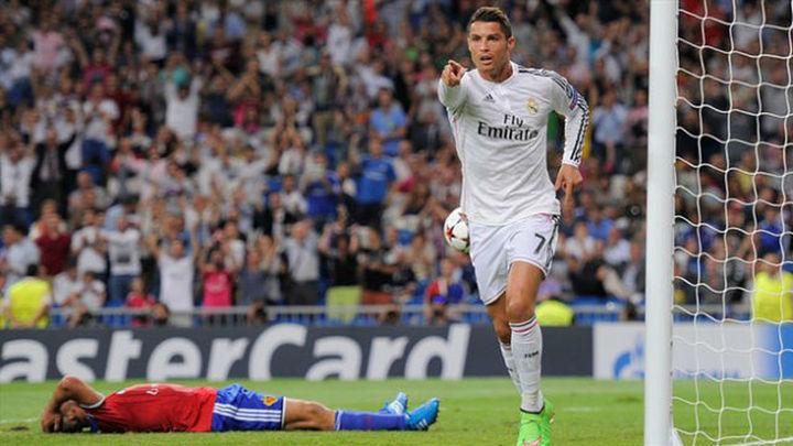 5-1. Goleada terapeútica del Madrid al modesto Basilea