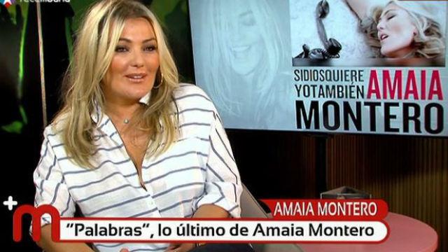 La cantante, en 'Más Madrid'