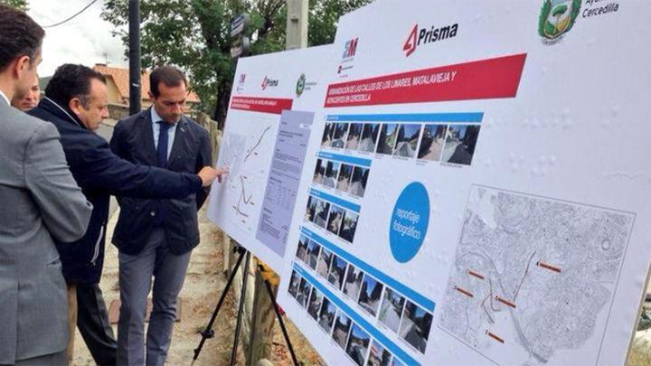 La Comunidad invierte 735.000 euros en la urbanización de varias calles de Cercedilla