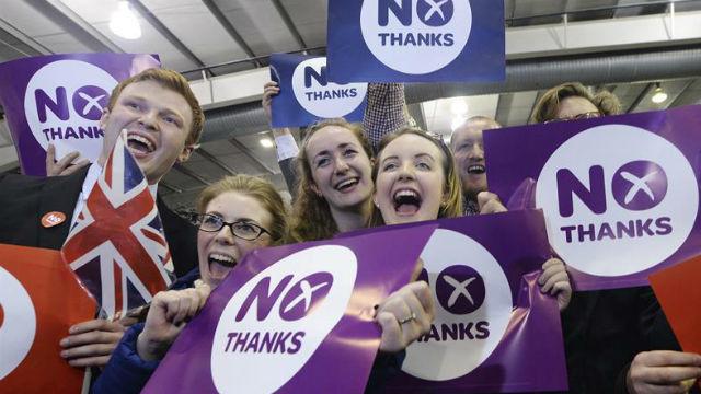 Escocia dice 'no'
