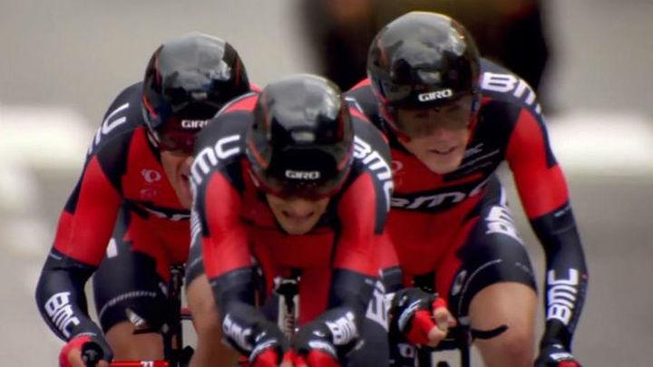 BMC, oro en la contrarreloj por equipos en el Mundial