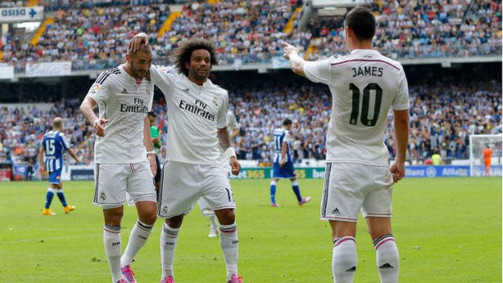 2-8. El Real Madrid se da un festín ante un dócil Deportivo