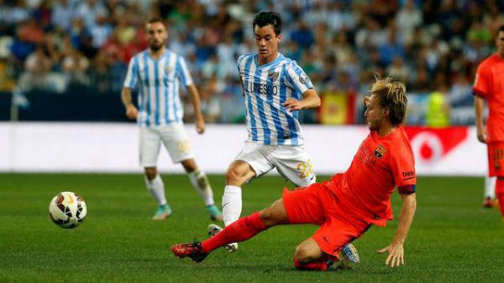 0-0. El Barça se atasca en Málaga