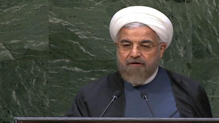 Rohani: Occidente convirtió Oriente Medio en un refugio para terroristas