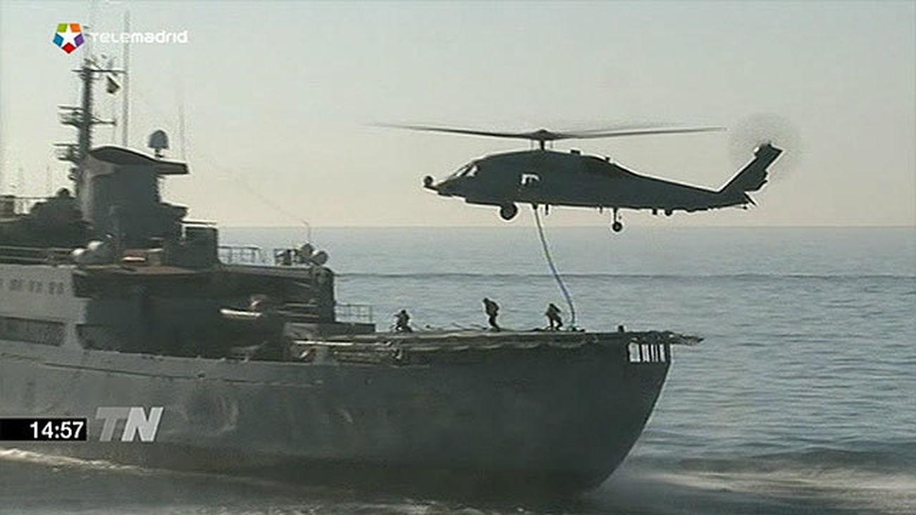 Maniobras navales conjuntas de España, Portugal, Marruecos y Argelia en Málaga