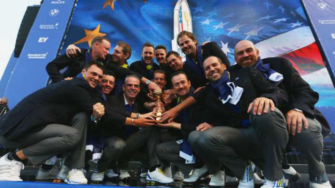 Europa gana la Ryder Cup