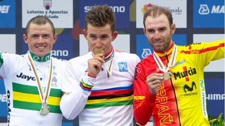 Valverde, bronce; Kwiatkowski, campeón del mundo