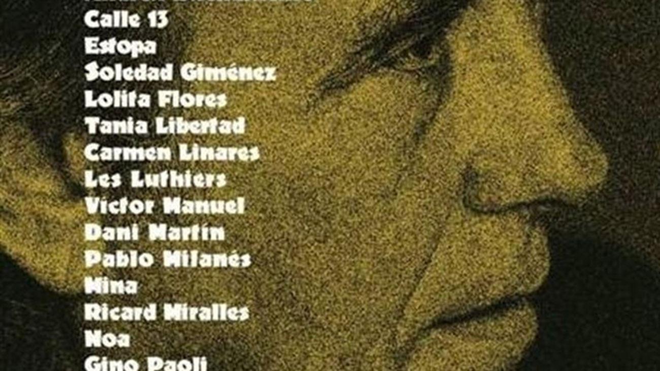 Serrat celebra 50 años en los escenarios con sus canciones más personales