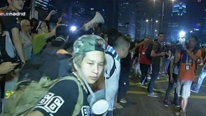 """El Gobierno de Hong Kong pide poner fin """"inmediatamente"""" a las protestas"""