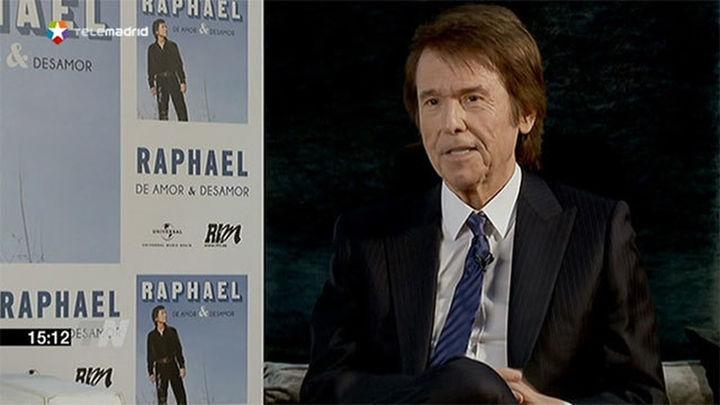 Raphael presenta su nuevo trabajo 'Amor y desamor'