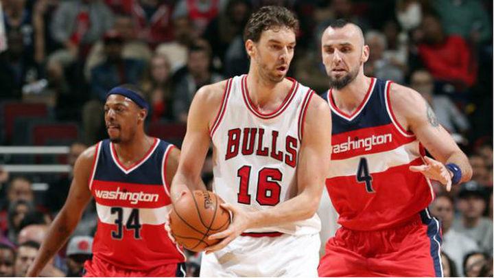 81-85. Pau Gasol y Mirotic perdieron en el debut con los Bulls