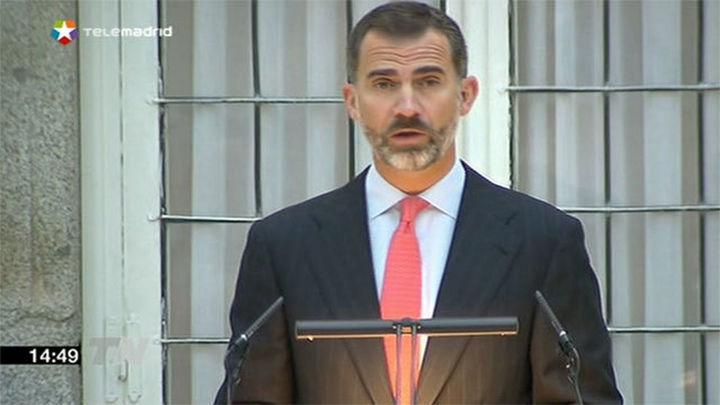 """El Rey anima al Instituto Cervantes a """"seguir la línea  más iberoamericana y de proyección universal"""""""