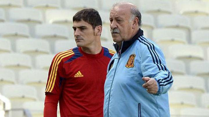 """Del Bosque: """"No creo que Casillas haya perdido su ángel"""""""