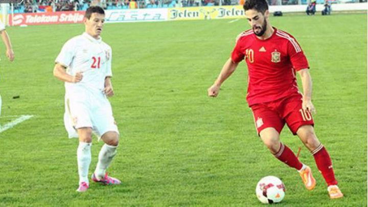 0-0. La selección sub 21 no puede con Serbia