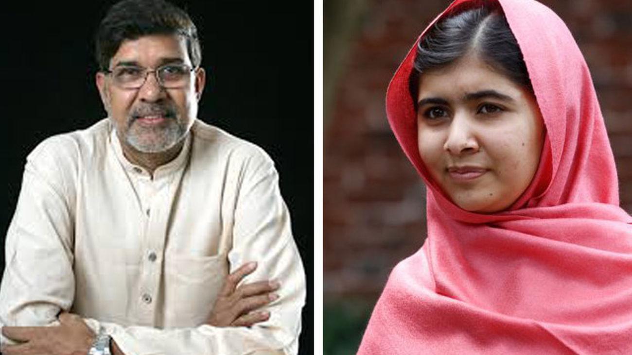 Malala y Kailash Satyarthi, Nobel de la Paz 2014