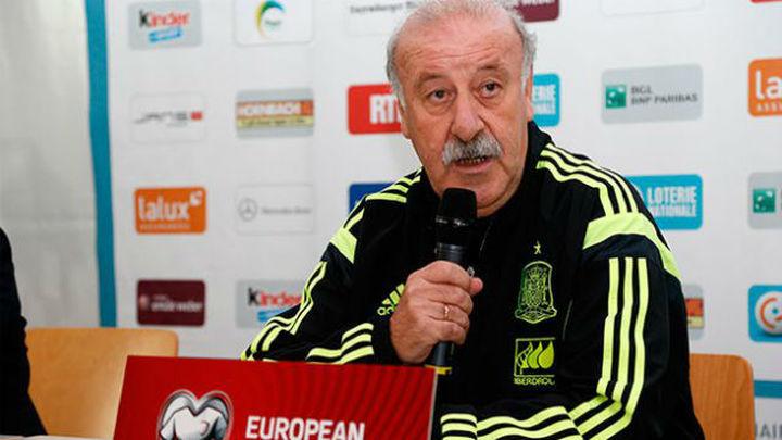 """Del Bosque: """"Haré cinco cambios, no es por la derrota"""""""