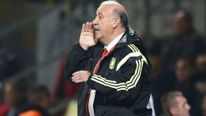 """Del Bosque: """"No es fácil hacer un cambio en la selección"""""""