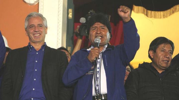 Evo Morales gana tercer mandato con apoyo de entre 59,5% y 61%, según los sondeos