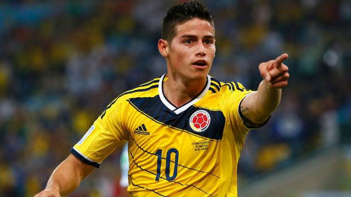 James triunfa con Colombia