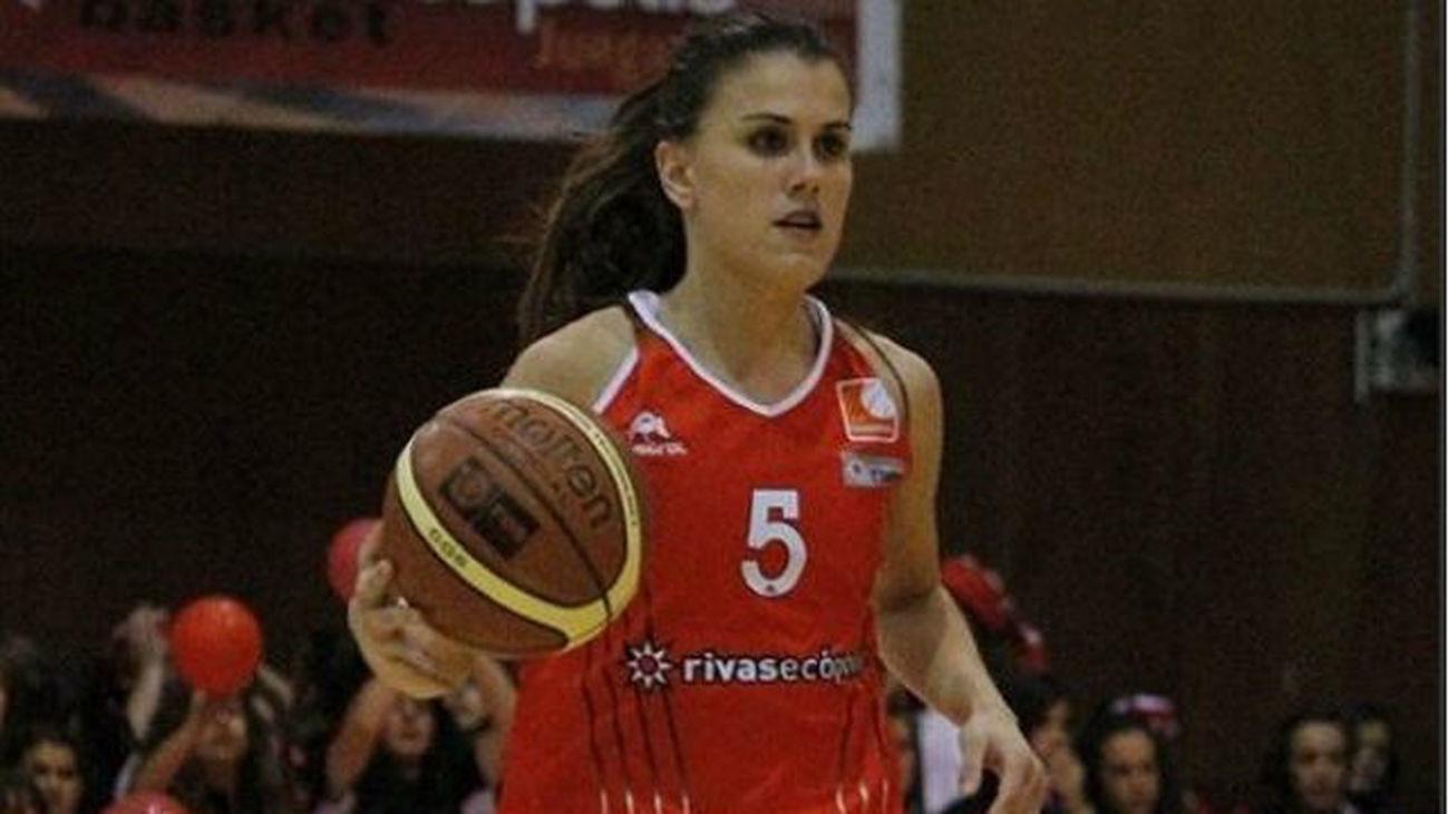 Alba Pacheco, jugadora del Rivas Ecópolis
