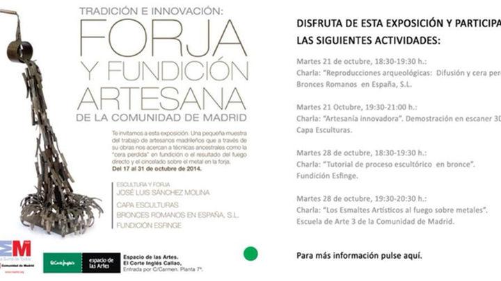 La Comunidad y El Corte Inglés difunden el trabajo de los artesanos de Madrid