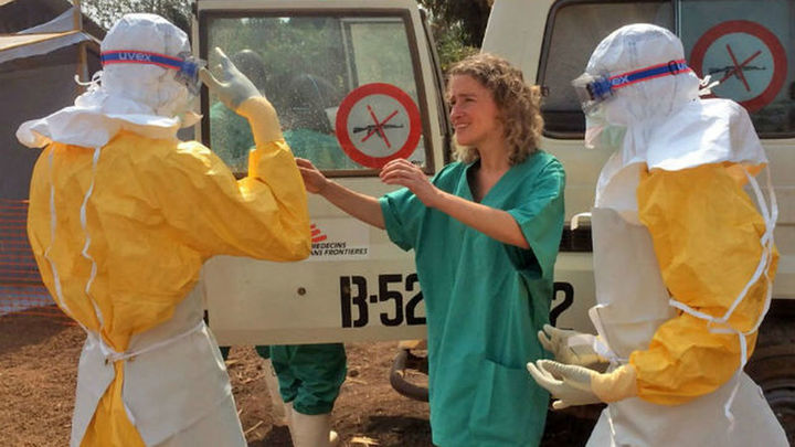 """La misión de transformar Sierra Leona con el """"problema añadido"""" del ébola"""