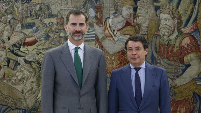 Felipe VI e Ignacio González