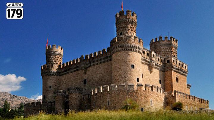El castillo de Manzanares El Real celebra la Navidad