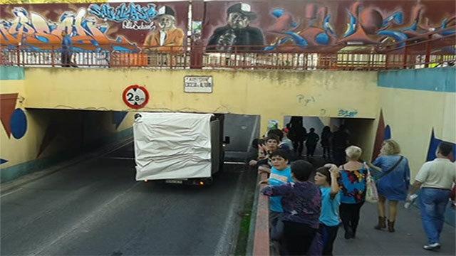 En el barrio de San Nicasio de Leganés