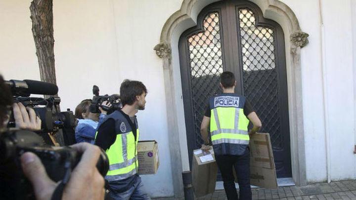 Oleguer Pujol queda en libertad tras negarse a declarar en la comisaría