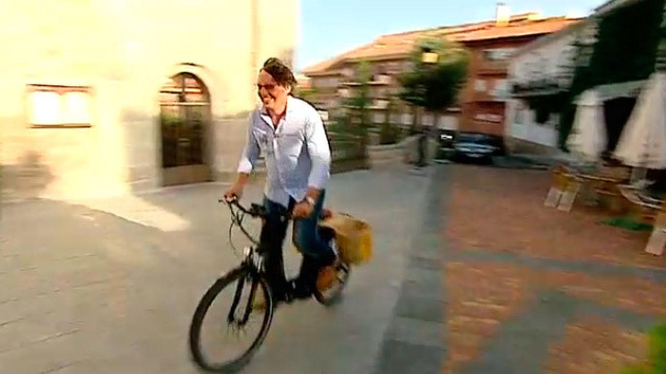 Manzanares El Real: La burricicleta