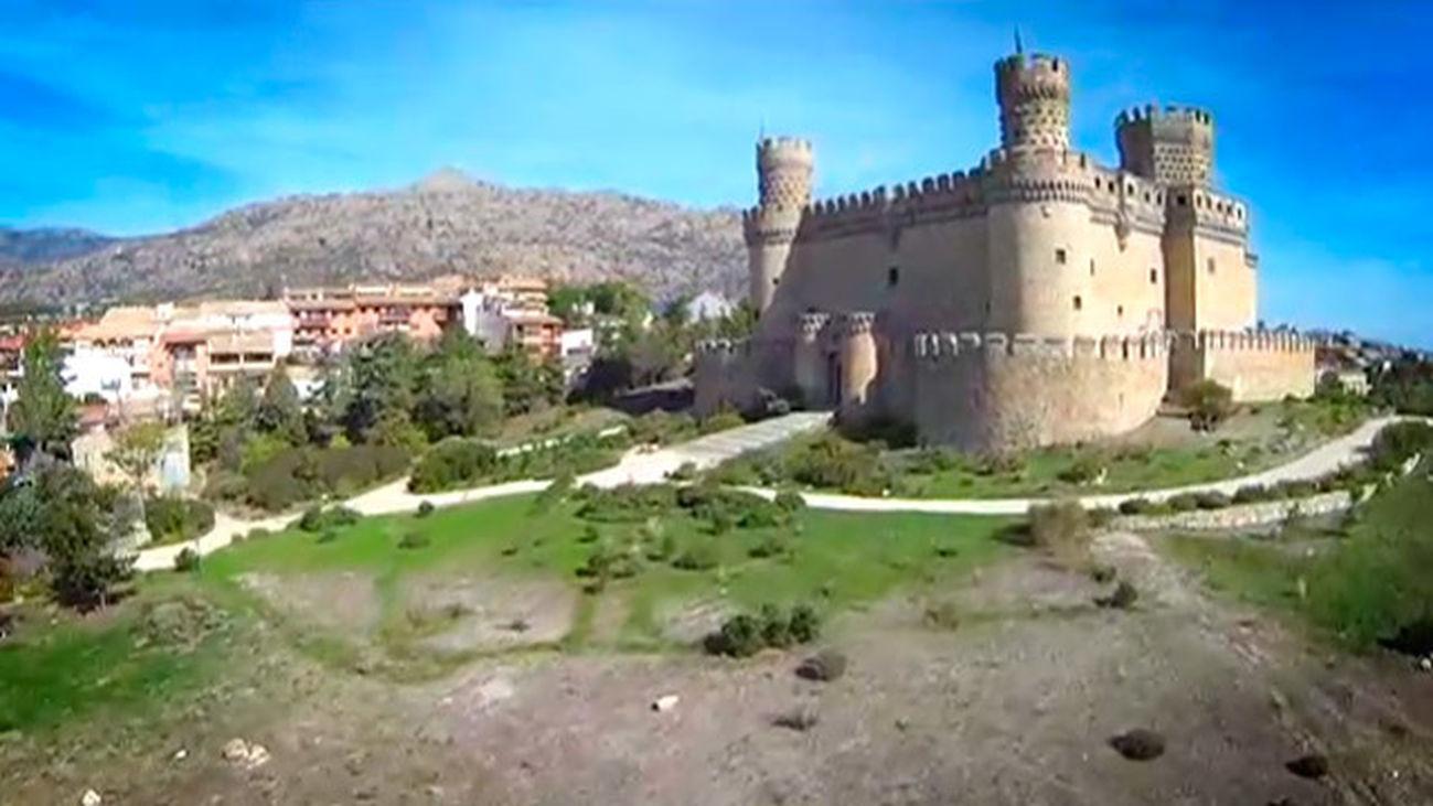 Manzanares El Real: El castillo de Mendoza