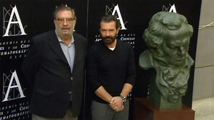 """Banderas recibe el Goya de Honor como """"recompensa y estímulo"""""""