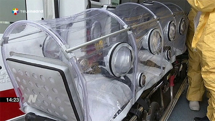 Madrid cuenta con una cápsula despresurizada para infecto-contagiosos